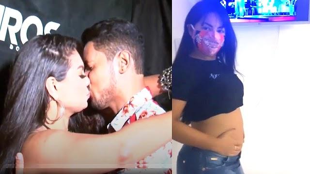 """Paulinha Abelha SIMULA GRAVIDEZ e DEIXA FÃS EUFÓRICOS, """"Será que tá gravida?"""""""