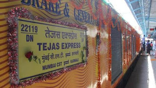 India's First 'private' Train TEJAS Express