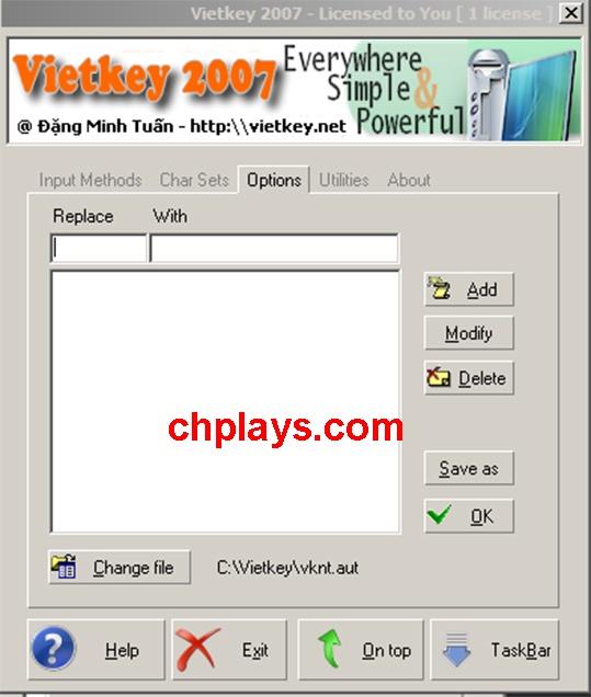 Tải Vietkey 2007 - Gõ tiếng Việt, Soạn thảo văn bản trên máy tính b