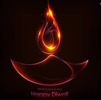 whatsapp dp on diwali
