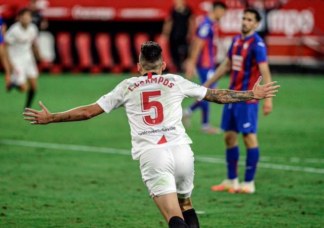 Crónica Sevilla FC 1 - Eibar 0
