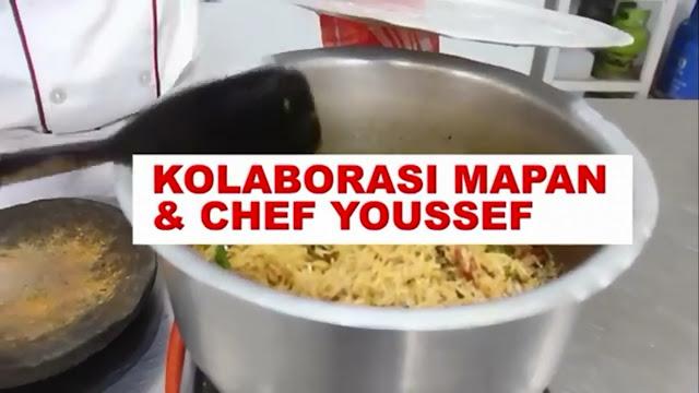 Kursus pelatihan memasak bersama chef profesional