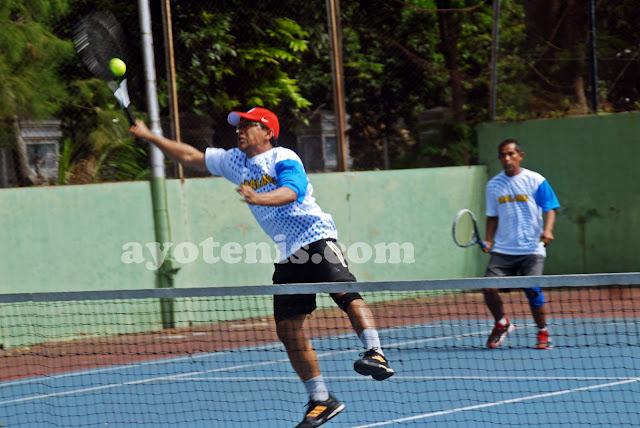 Legenda Sepak Bola, Aji Santoso Banting Setir Jadi Atlet Tenis?