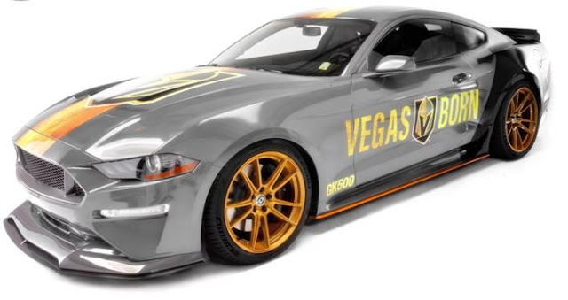 2018 Ford Mustang GT Las Vegas Golden Knights
