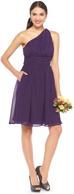 Cheap Knee Length Chiffon Bridesmaid Dresses