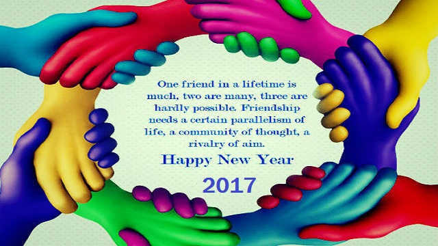 Happy New Year 2017 Cards