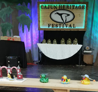 cajun heritage fest queens fest rubber ducky entries