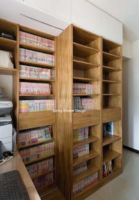 書櫃的收納設計