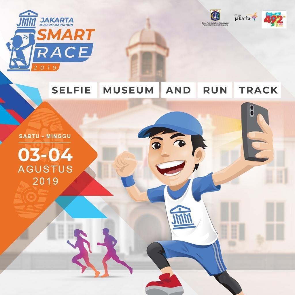 Jakarta Museum Marathon Smart Race • 2019