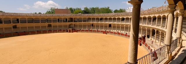 Plaza de toros de Ronda, viajes y turismo