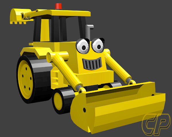 Wip 3d model scoop from bob the builder wip 3d model scoop from bob the builder sciox Images