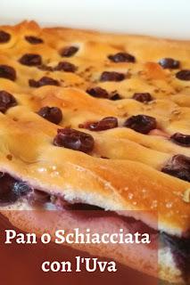 Immagine in primo piano del Pan con l'Uva