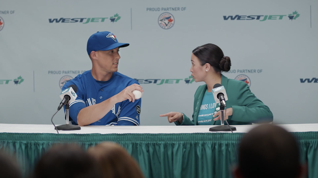 WestJet Debuts Super New Toronto Blue Jays Ad Campaign