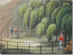 Lithographies en couleurs « A series of views illustrative of the Island of St-Helena » de J.Wathen – Septembre 1821 – Collection des domaines français de Sainte-Hélène