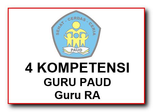 4 Kompetensi Guru PAUD (RA)