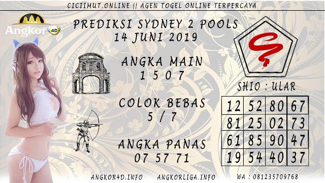 PREDIKSI SYDNEY 2 POOLS 14 JUNI 2019