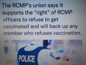 click on pic - RCMP to support Vaccine Choice!