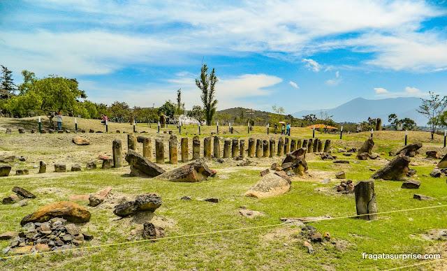 Sítio Arqueológico de El Infiernito, Villa de Leyva, Colômbia