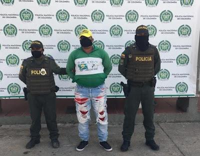 https://www.notasrosas.com/Por Hurto Agravado y Calificado, es capturado en el Barrio 'El Boscán', de Maicao