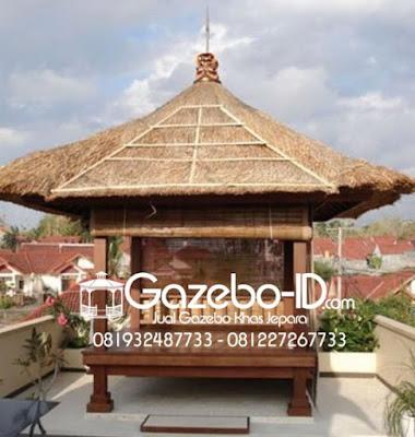 Gazebo Bali Minimalis