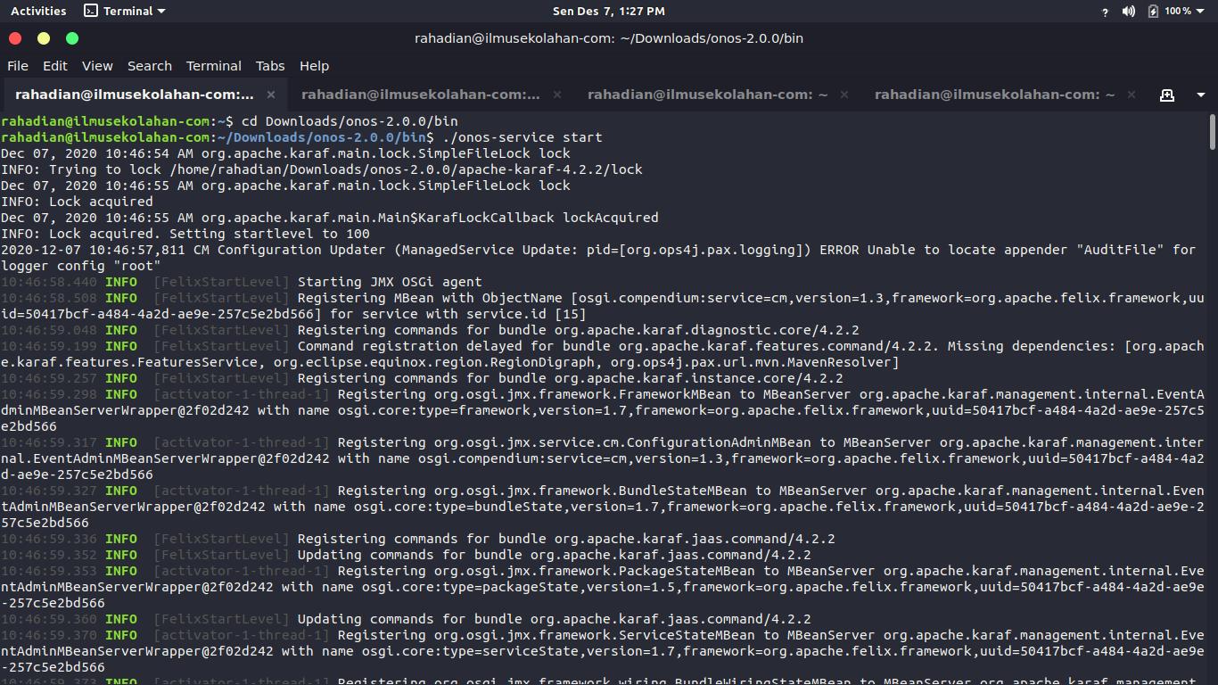 Cara menggunakan Iperf di Mininet