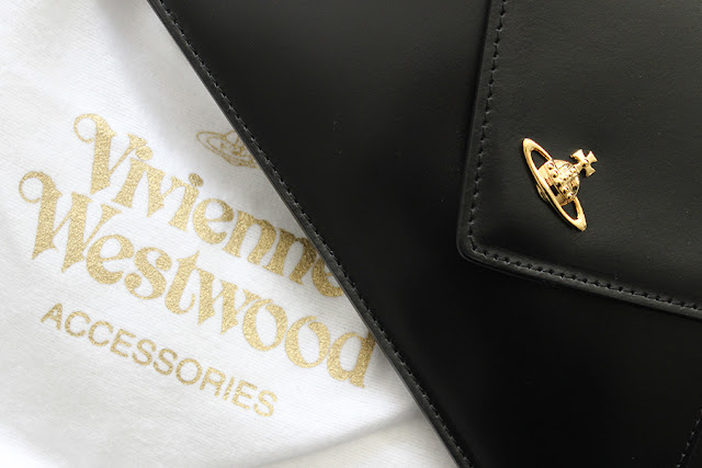 Vivienne Westwood Private Envelope Clutch Bag.
