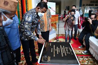 Rocky Resmikan Alat Tes PCR di RSUD dr Zubir Mahmud Aceh Timur