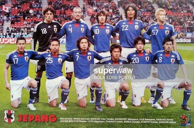 JAPAN TEAM SQUAD 2010