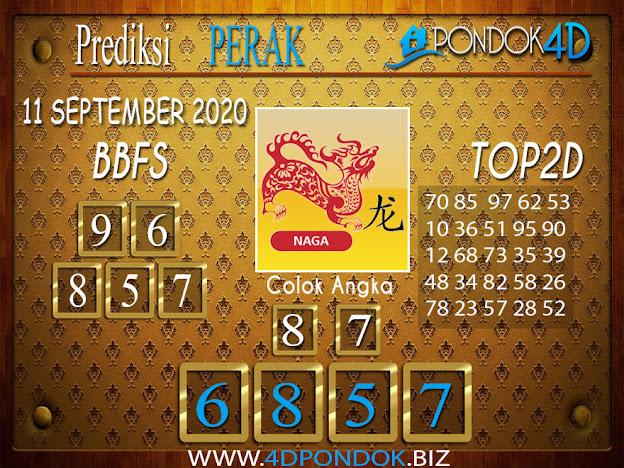 Prediksi Togel PERAK PONDOK4D 11 SEPTEMBER 2020