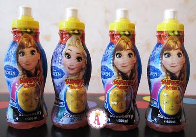 Бутылки с Анной и Эльзой Surprise Drinks