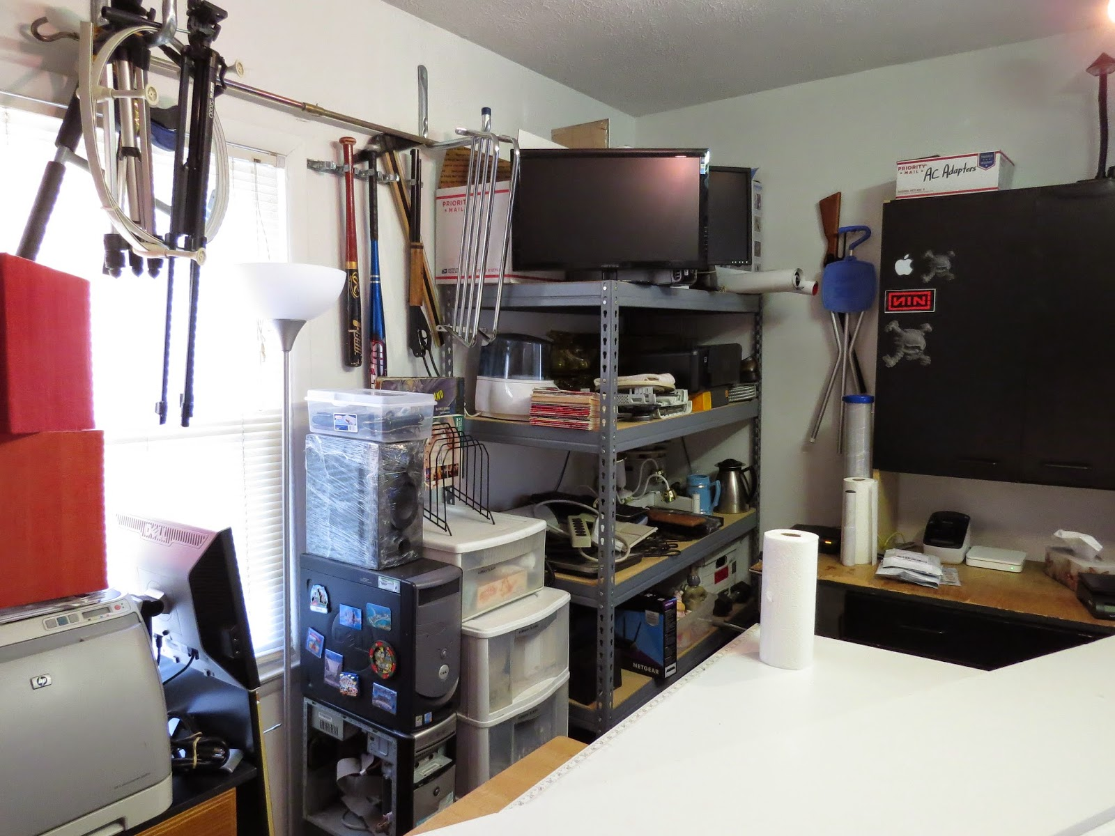 Checking Reality: eBay Office Setup + Packing Area + Photo ...