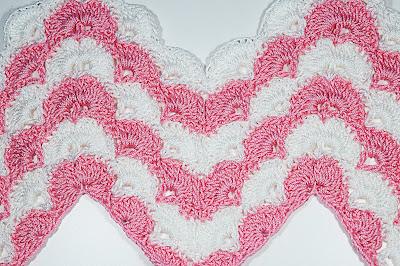 2 - CROCHET IMAGEN Puntada zig zag en abanicos a crochet y ganchillo. Majovel crochet.