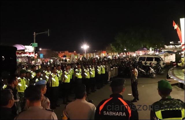 Malam Takbir Aman Kondusif, 10 Unit Motor Diamankan