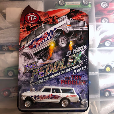 The Toy Peddler  Custom '64 Wagon Gasser nova ttp