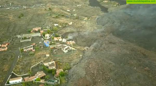 La Consejería de Obras Públicas, Transportes y Vivienda coordina con el Cabildo y los ayuntamientos de La Palma las actuaciones en carreteras y viviendas afectadas por el volcán