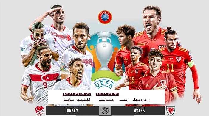 مباراة تركيا vs ويلز