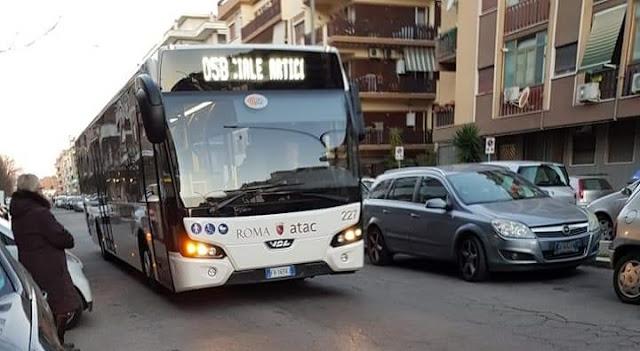 Situazione Trasporto Pubblico Roma lunedì 25 febbraio
