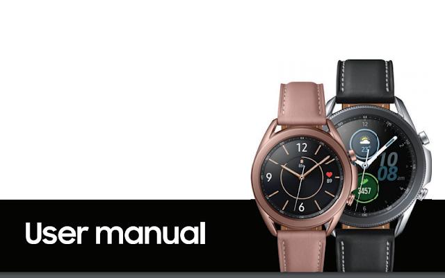 تسربت دليل مستخدم ساعة سامسونج Galaxy Watch 3