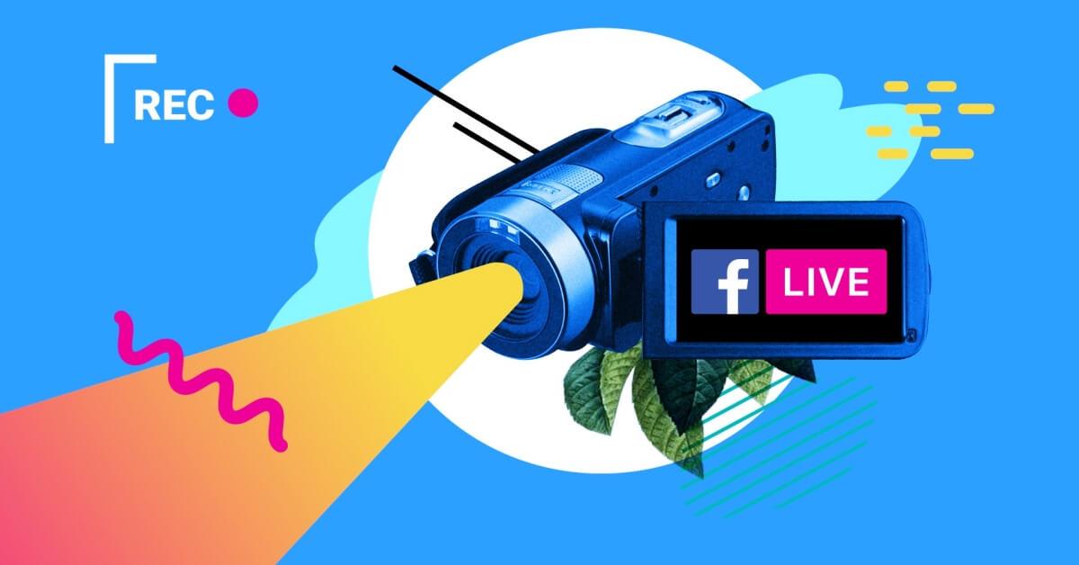 كيفية عمل بث مباشر على الفيس بوك باستخدام فيديوهات مسجلة