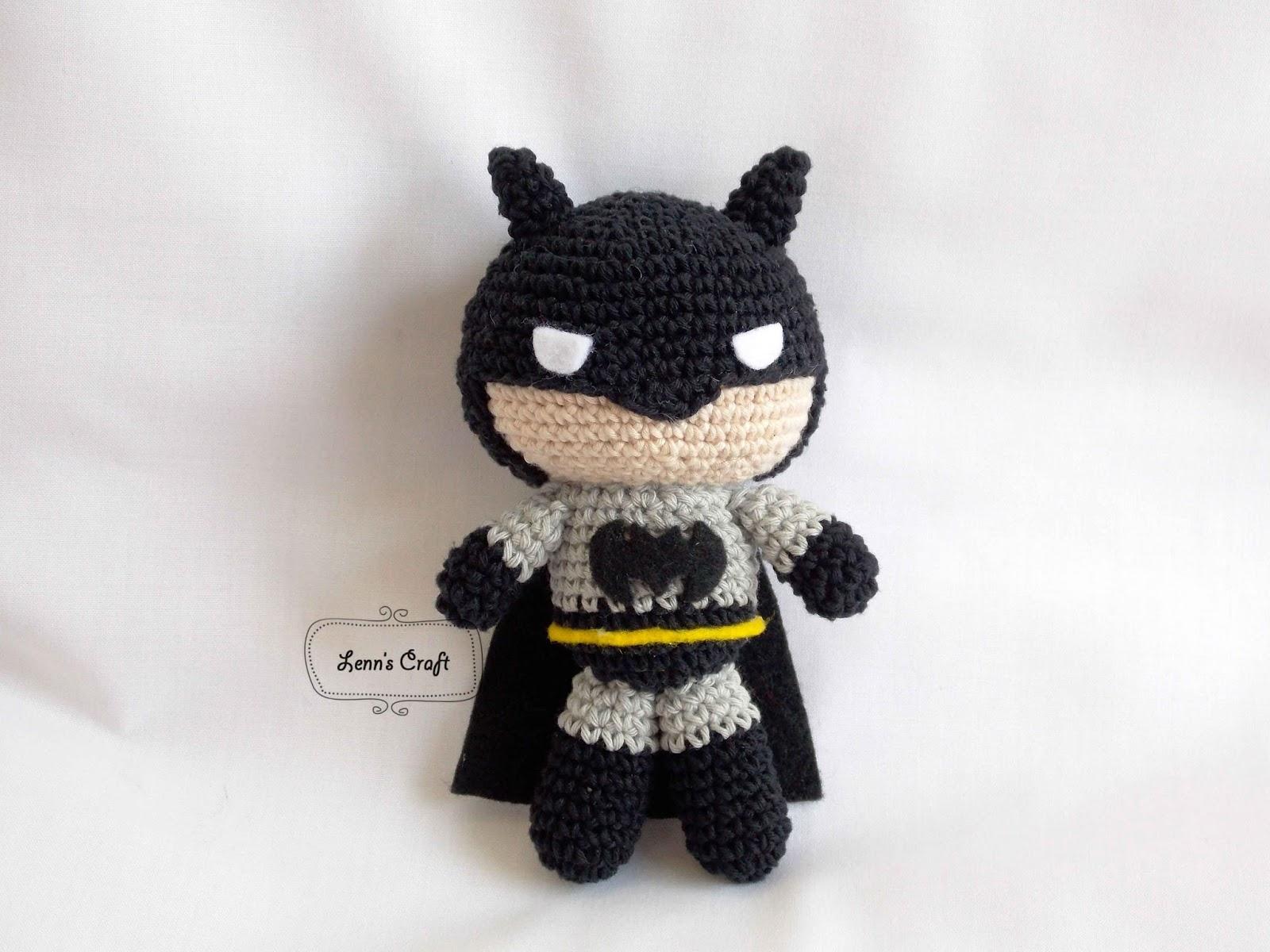 Tutorial Batman Amigurumi | Serie Princesas y Súper Héroes | Lanas ... | 1200x1600