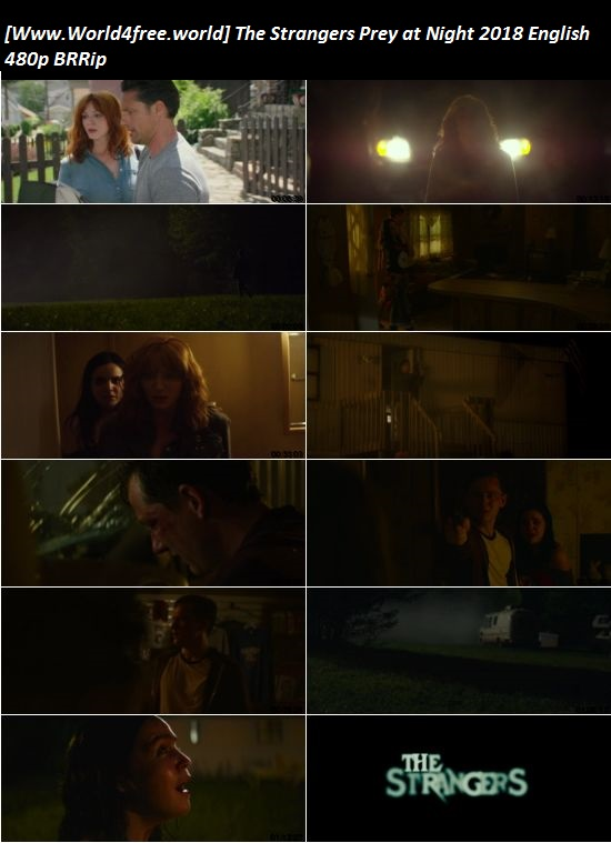 Screen Shoot of The Strangers Prey at Night 2018 English 480p BRRip 300MB