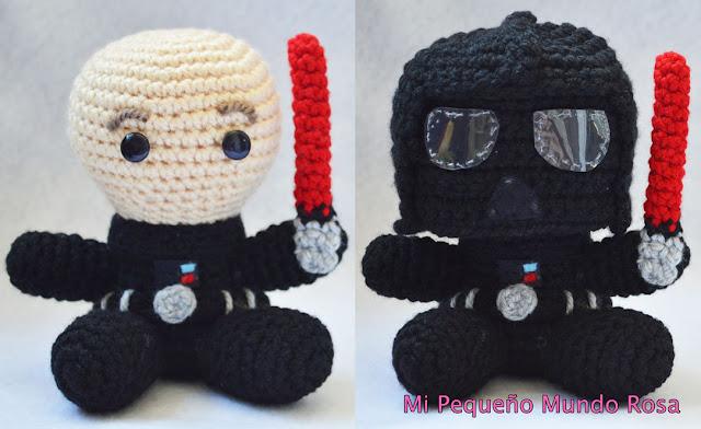 Amigurumi Tutorial Gratis : Amigurumiamo darth vader amigurumi pattern crochet