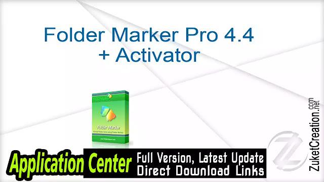 Folder Marker Pro 4.4 + Activator