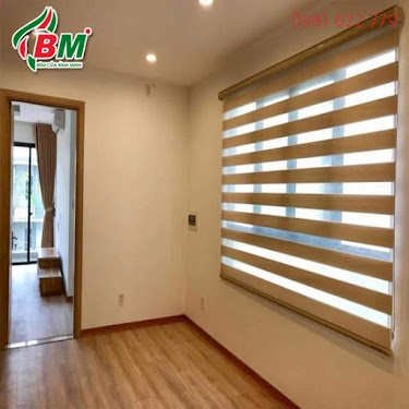 Rèm cầu vồng hàn quốc kiểu wood look cho cửa sổ đẹp,công trình tại hớn quản bình phước .0981.622.779