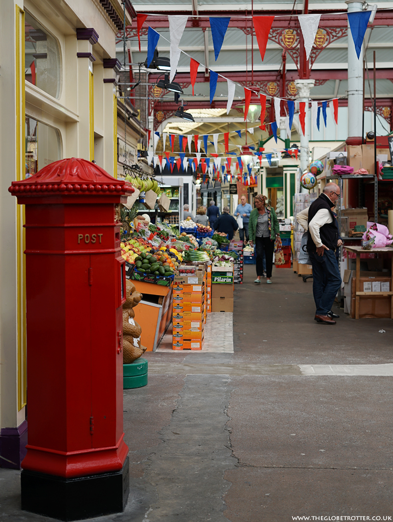 The Central Market in St Helier, Jersey