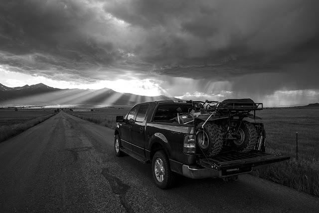 4wd road Hermit Pass road in the Sangre de Cristo Mountains near Westcliffe Colorado