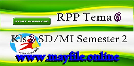 RPP Kelas 3 Tema 6 | Energi dan Perubahannya