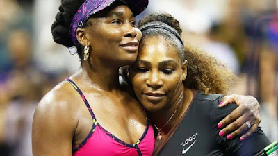 Serena Williams survived another scare to beat older sister Venus 3-6 6-3 6-4 in the latest instalment of their reluctant on-court sibling rivalry.