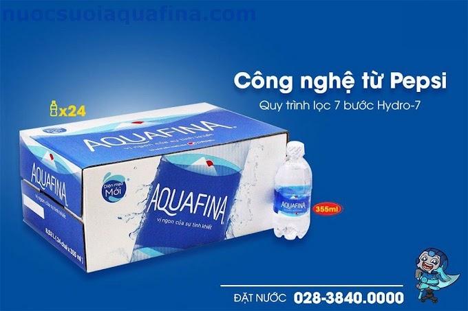 Nước Tinh Khiết Aquafina Chai 355ml