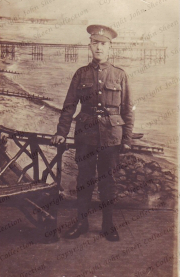 Private Walter Sheen of the 8th Green Howards With many thanks to John Sheen, from his personal collection (A001)